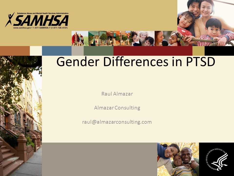 Gender Differences in PTSD