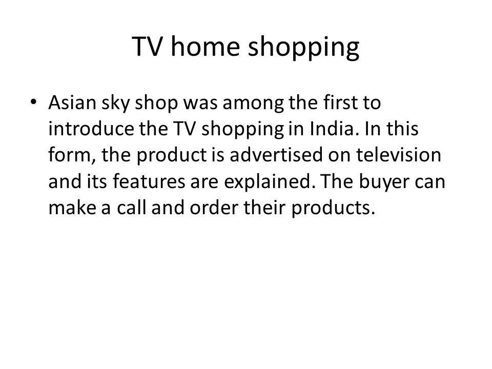 TV home shopping