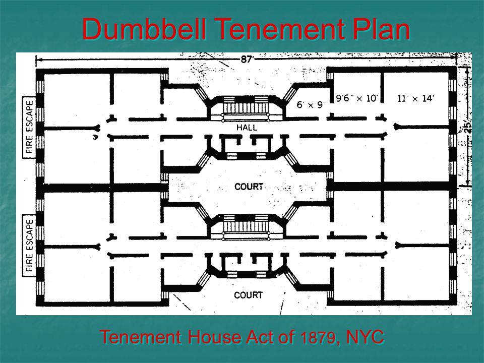 Dumbbell Tenement Plan