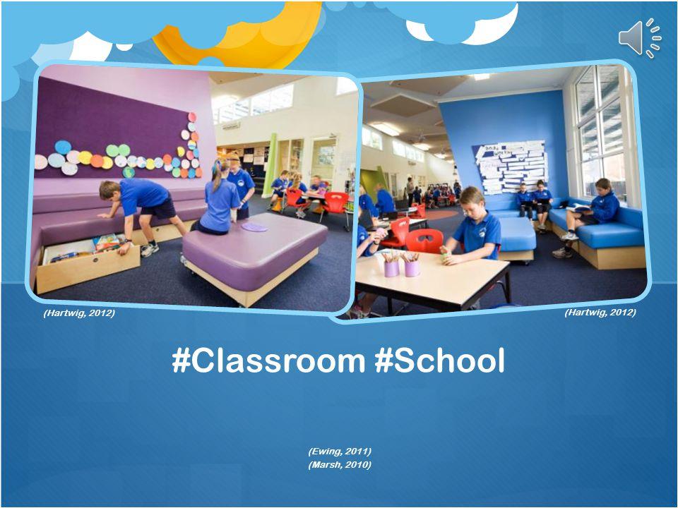#Classroom #School (Hartwig, 2012) (Hartwig, 2012) (Ewing, 2011)