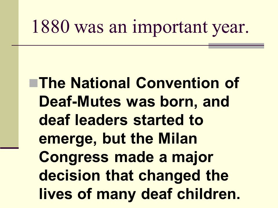 1880 was an important year.