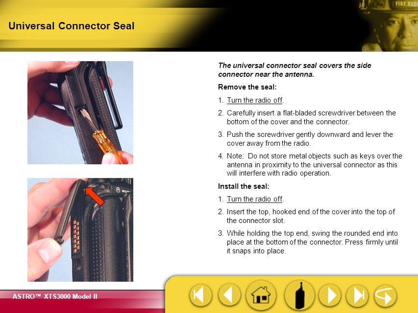 Universal Connector Seal