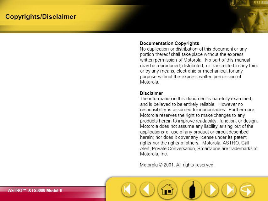 Copyrights/Disclaimer