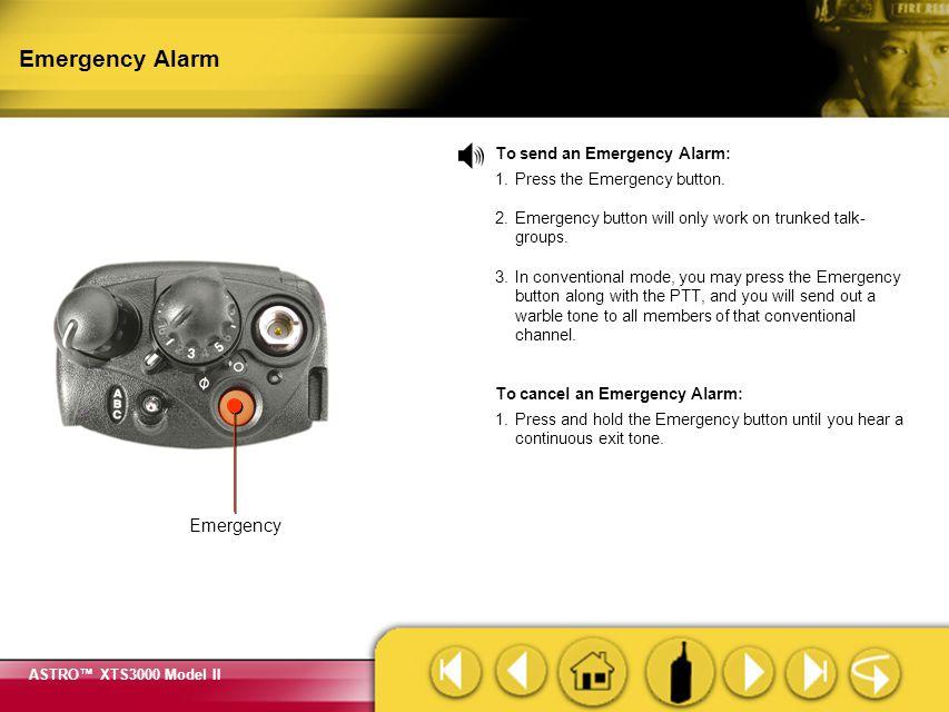 Emergency Alarm Emergency