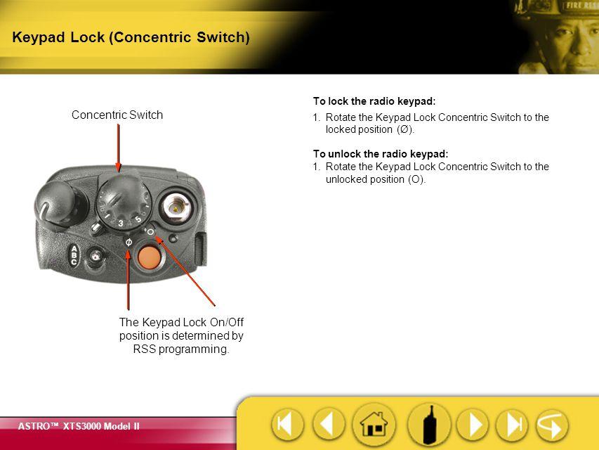 Keypad Lock (Concentric Switch)