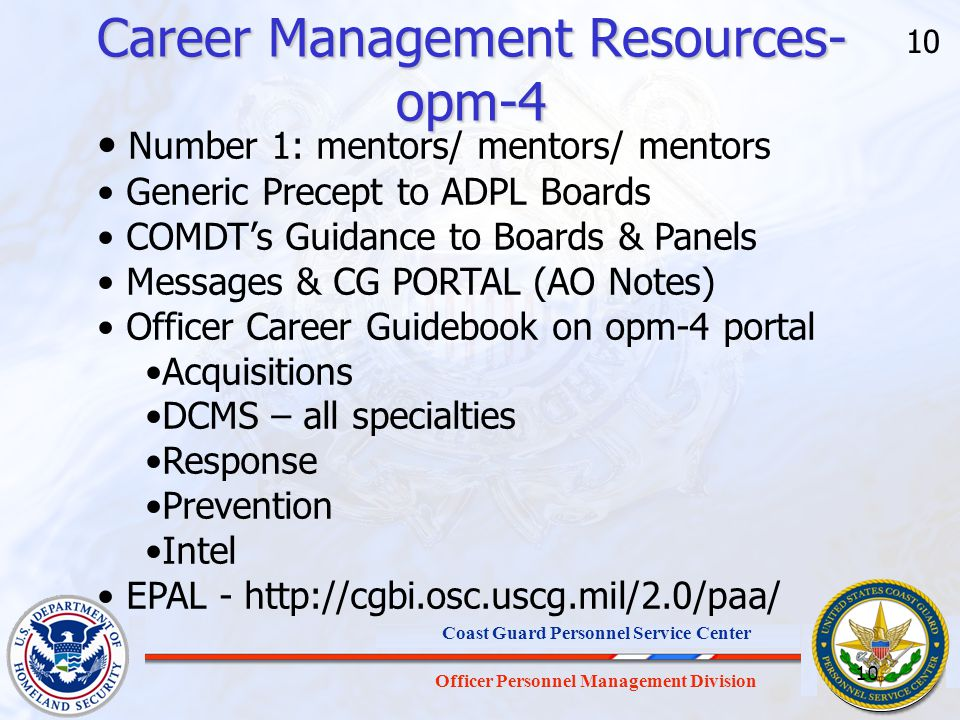 Career Management Resources- opm-4