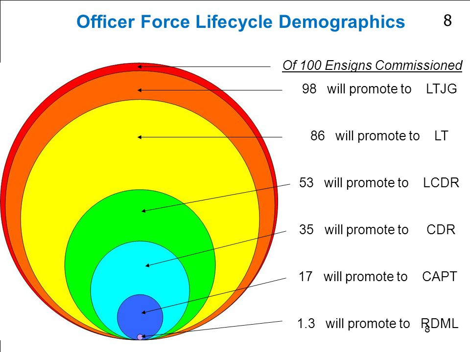 Officer Force Lifecycle Demographics