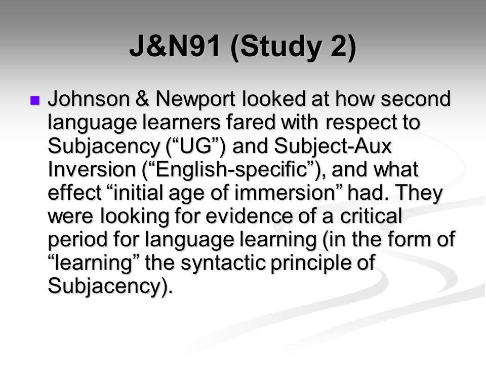 J&N91 (Study 2)