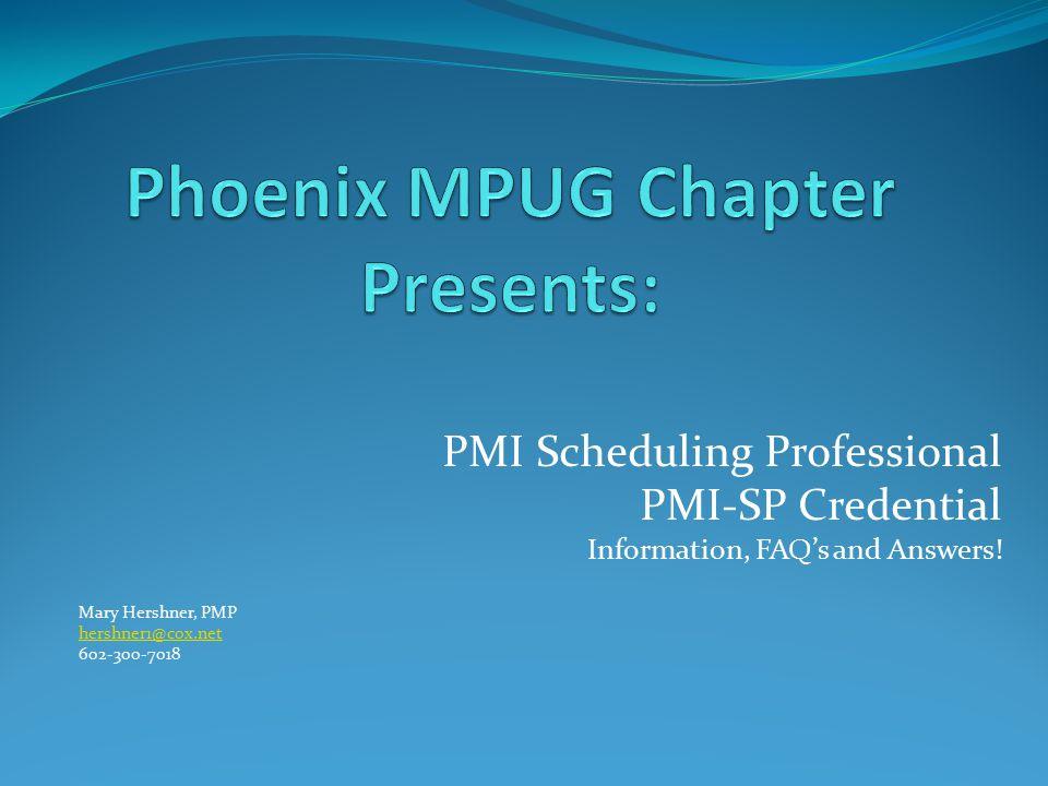 Phoenix MPUG Chapter Presents: