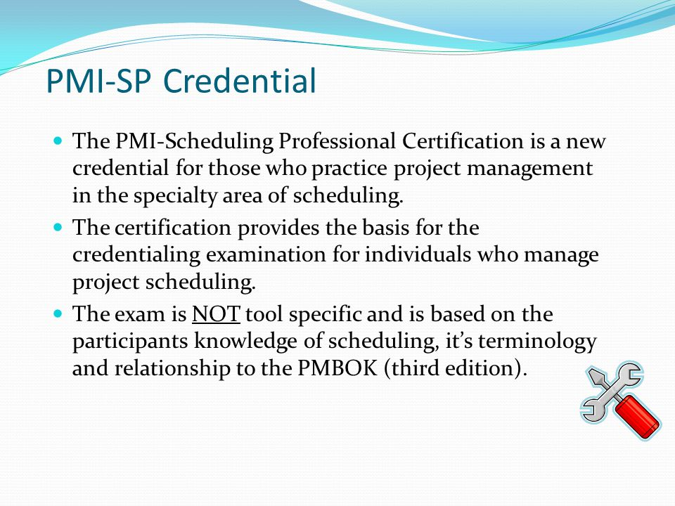 PMI-SP Credential