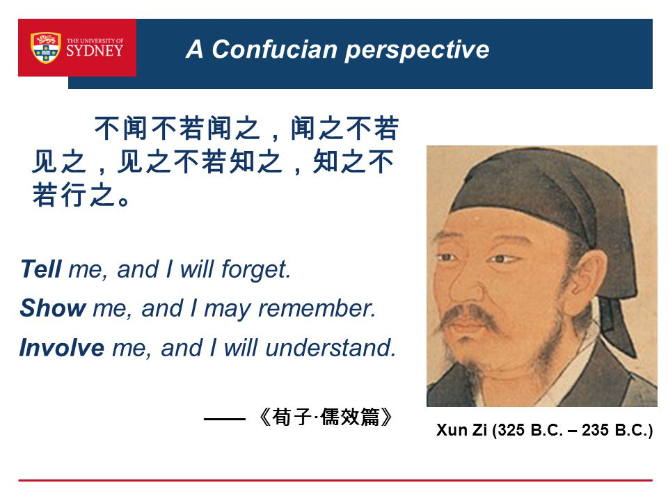 A Confucian perspective