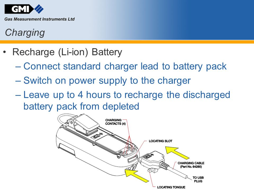 Recharge (Li-ion) Battery