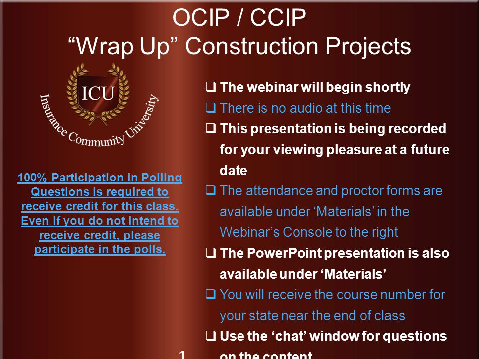 Wrap Up Construction Projects