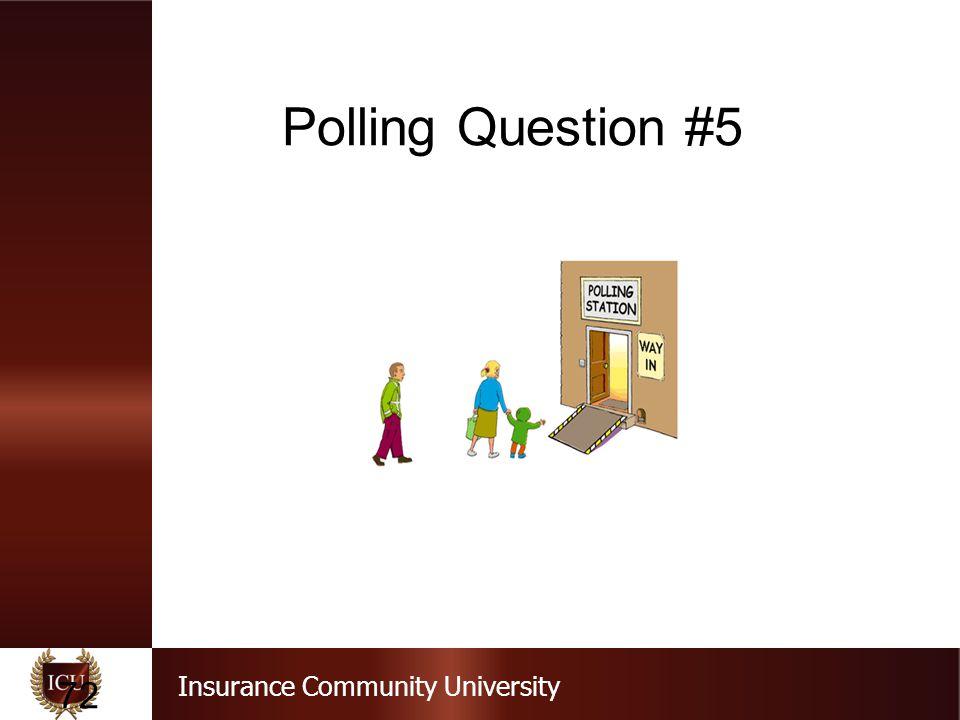 Polling Question #5 Question #5 Strict liability means Negligent act