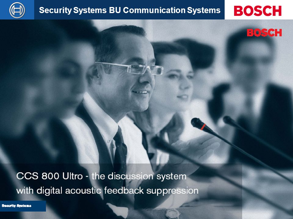 CCS 800 Ultro - the discussion system with digital acoustic