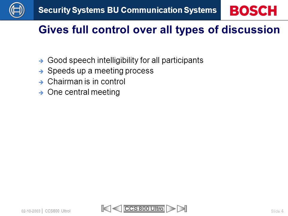 Gives full control over all types of discussion