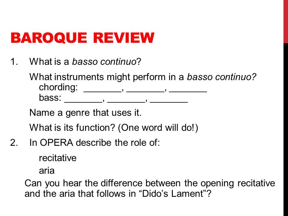 Baroque Review