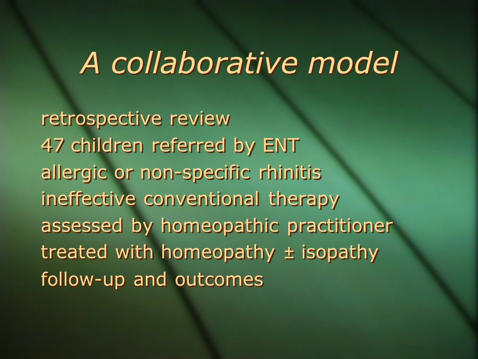 A collaborative model retrospective review 47 children referred by ENT