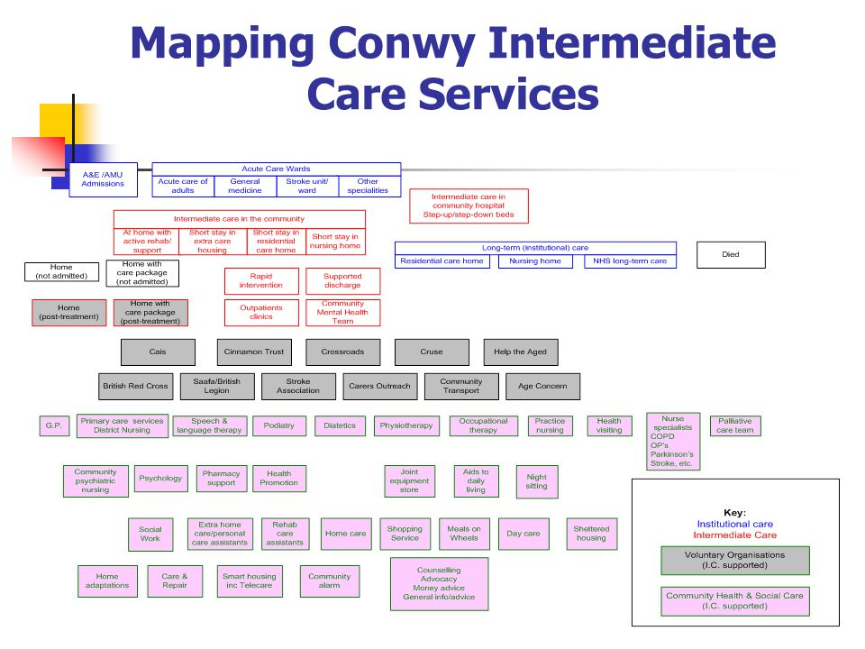 Mapping Conwy Intermediate Care Services