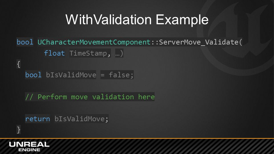 WithValidation Example