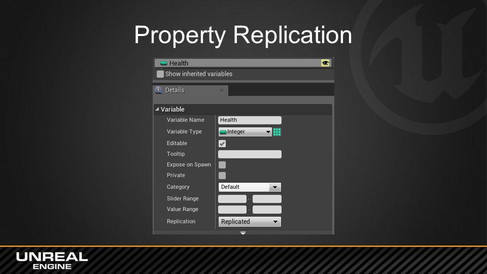 Property Replication