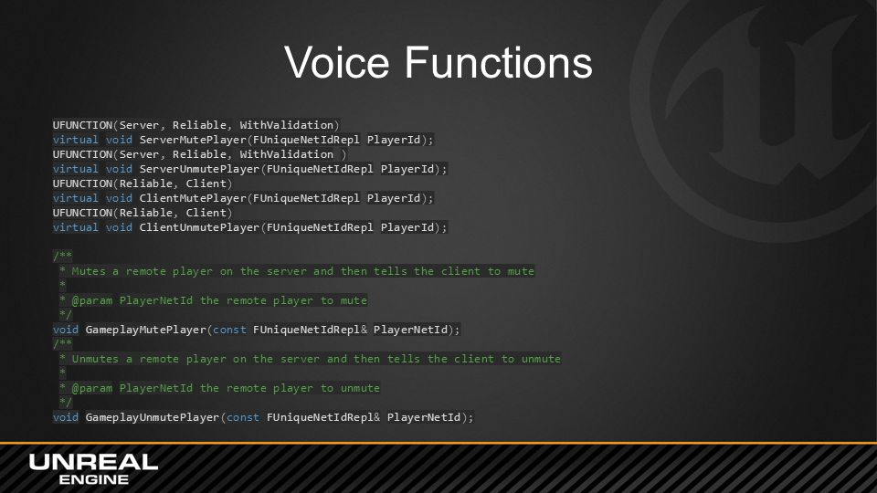 Voice Functions