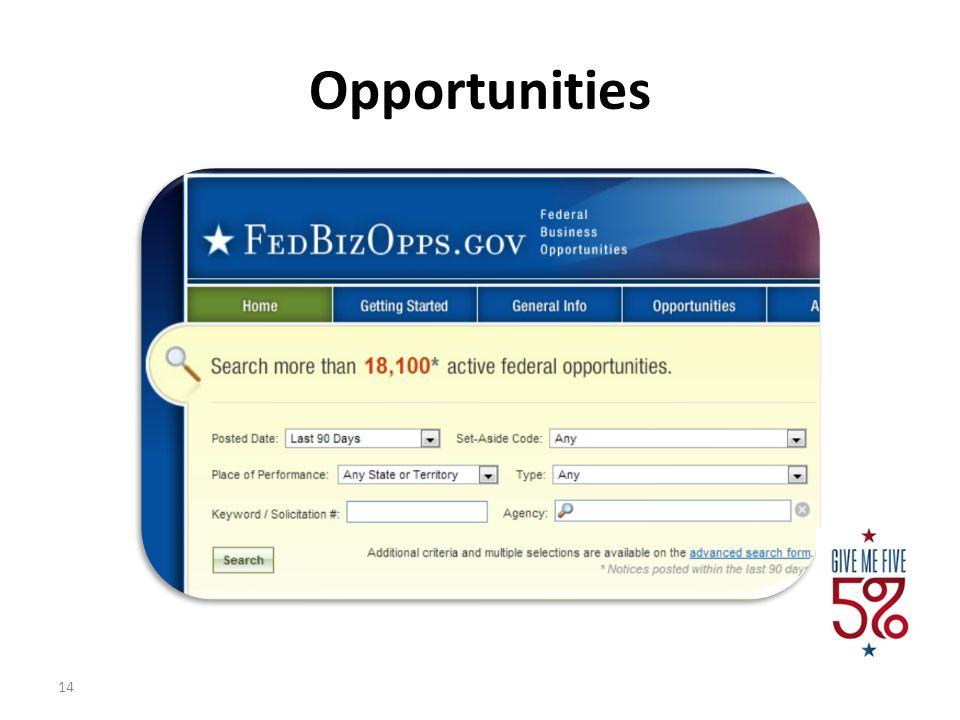 Opportunities 4