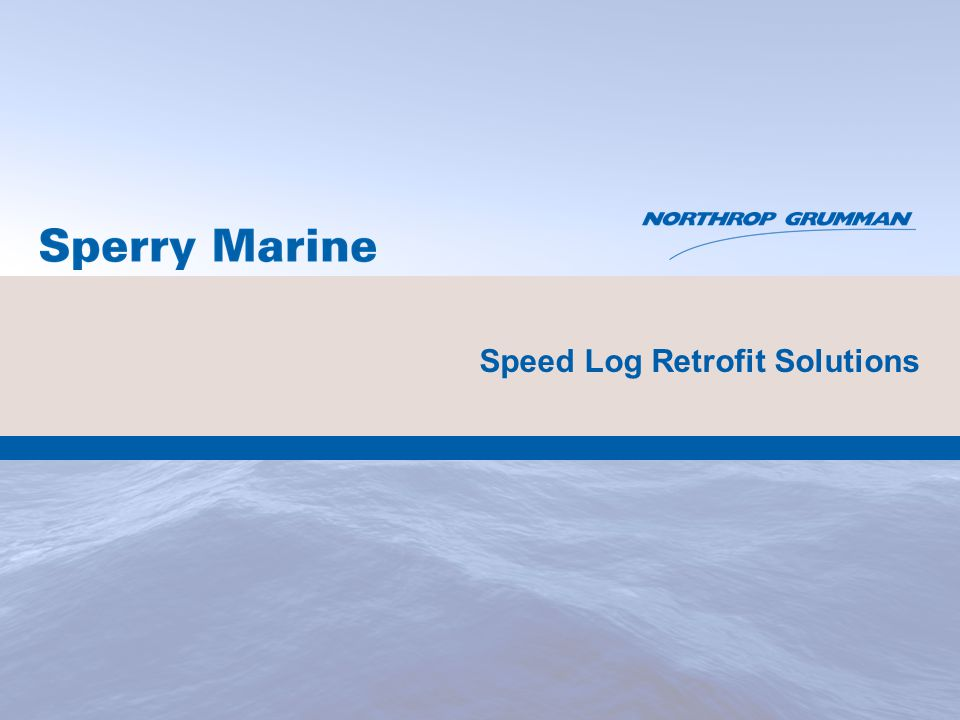 Speed Log Retrofit Solutions
