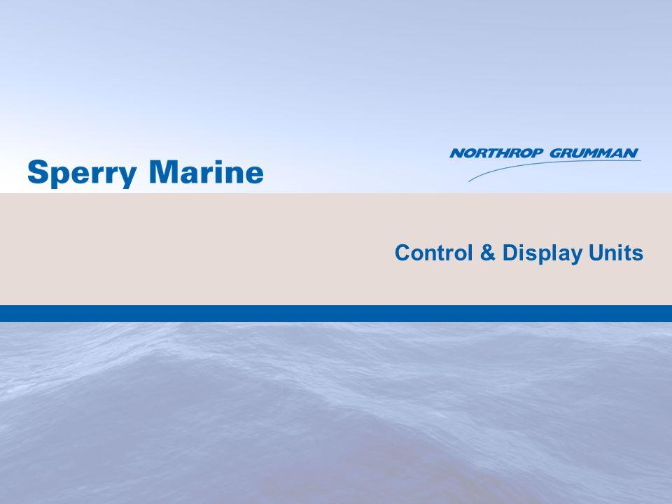 Control & Display Units