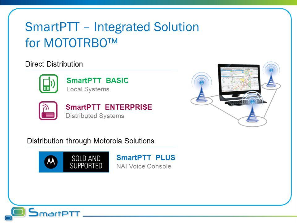 SmartPTT – Integrated Solution for MOTOTRBO™