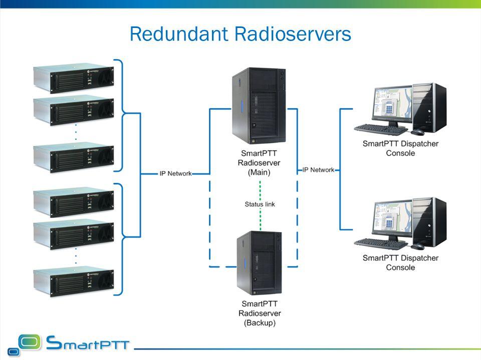 Redundant Radioservers