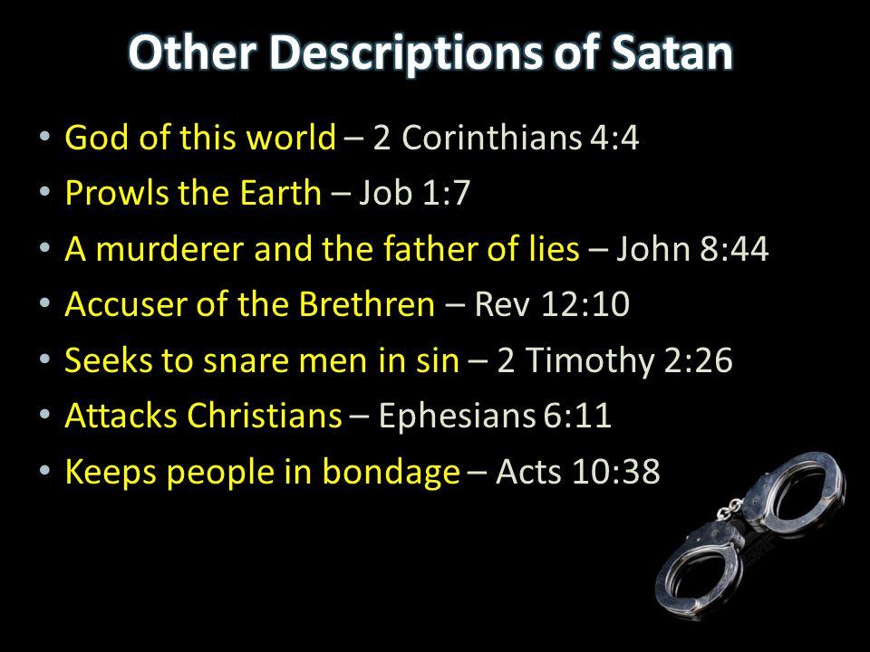 Other Descriptions of Satan