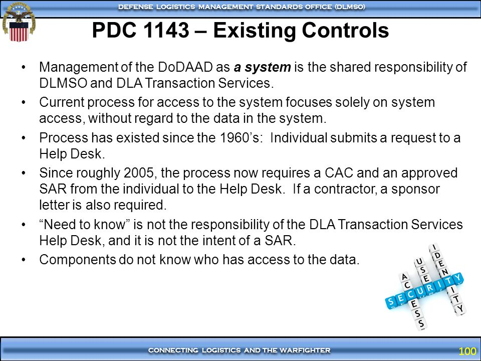 PDC 1143 – Existing Controls