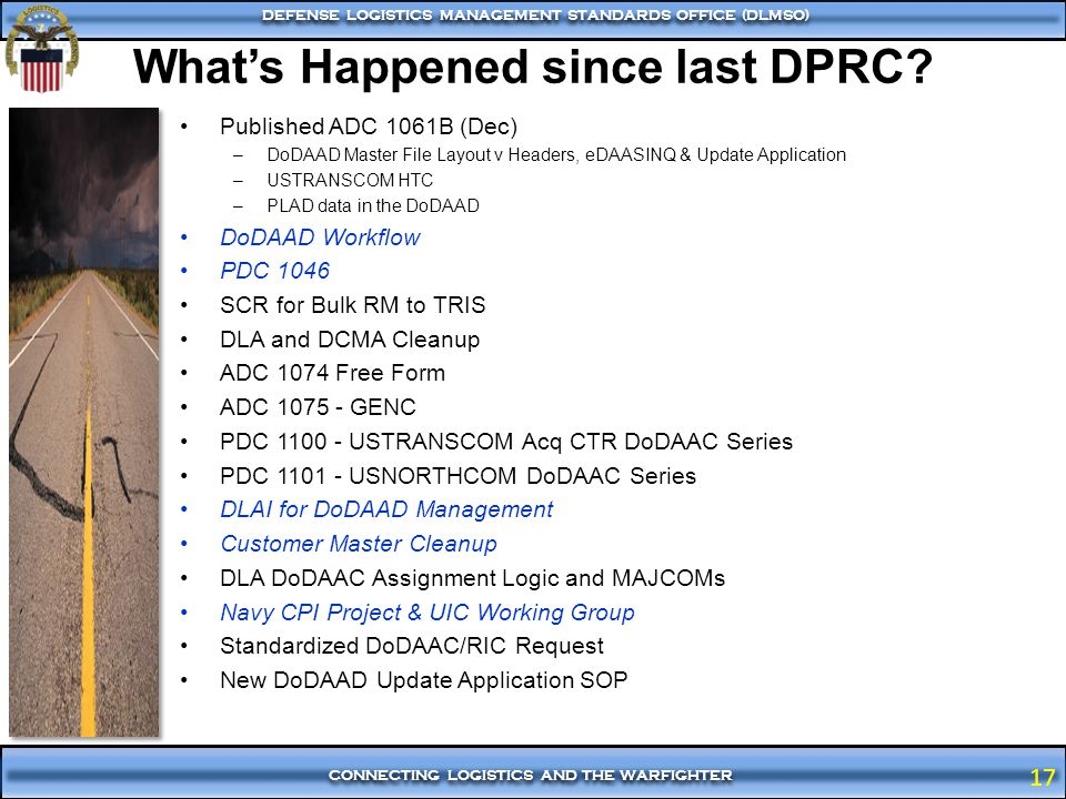 What's Happened since last DPRC