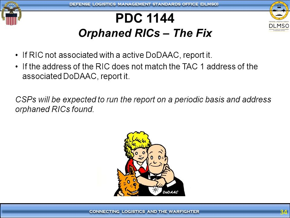 PDC 1144 Orphaned RICs – The Fix