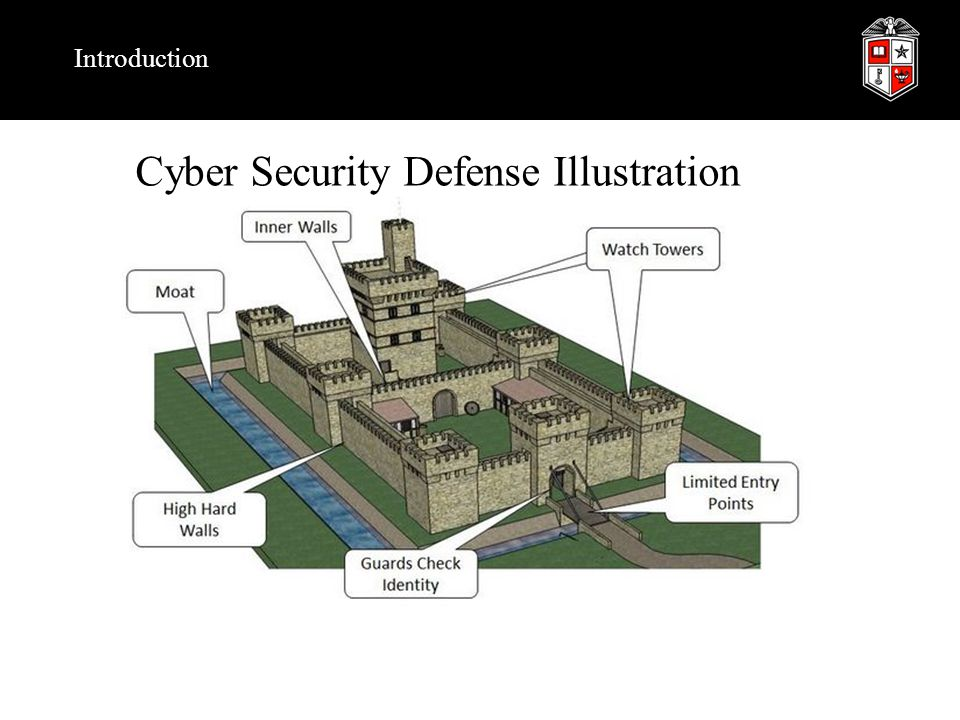Cyber Security Defense Illustration