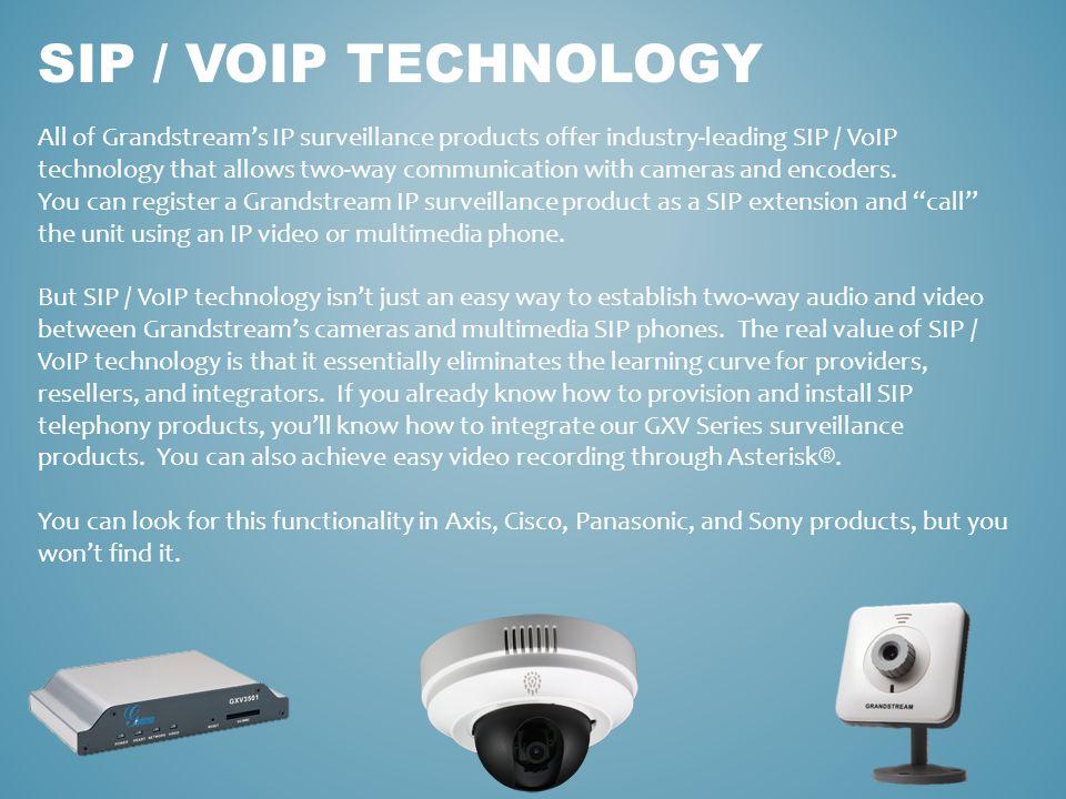Sip / voip technology