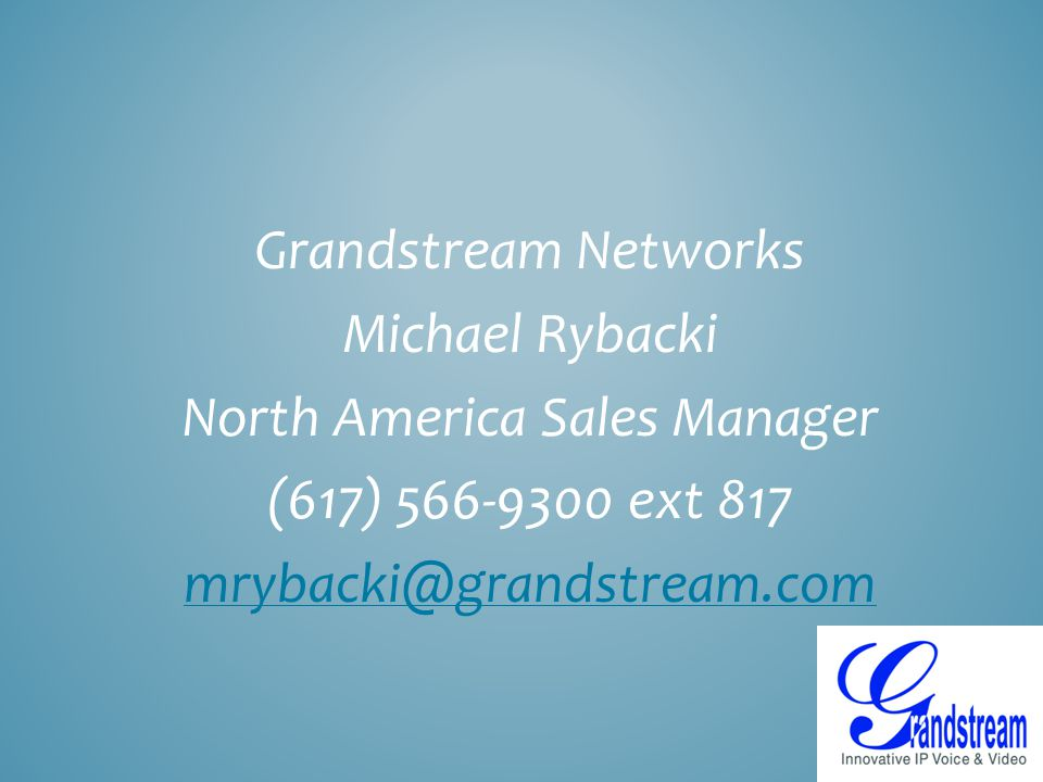 North America Sales Manager