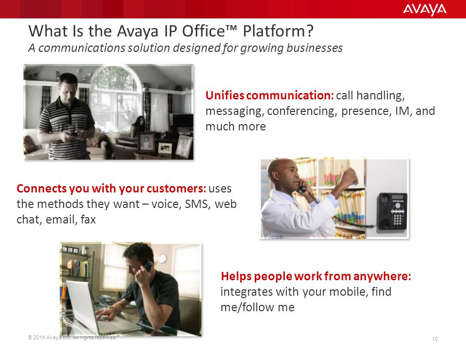 What Is the Avaya IP Office™ Platform