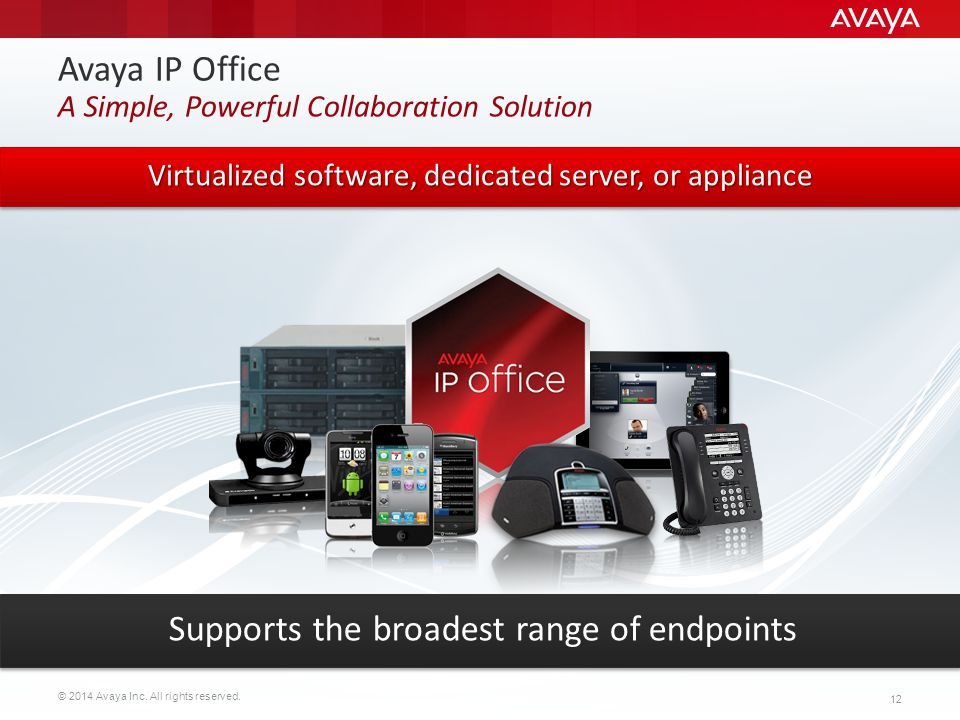 Avaya IP Office A Simple, Powerful Collaboration Solution