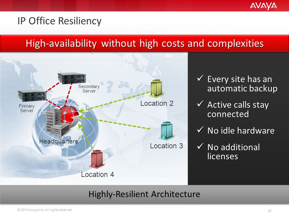 High-availability without high costs and complexities
