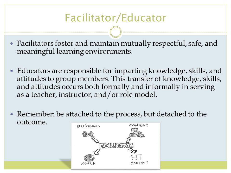 Facilitator/Educator