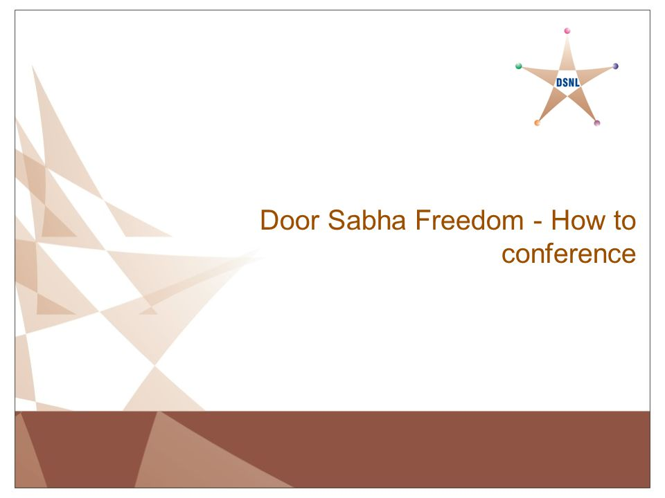 Door Sabha Freedom - How to conference