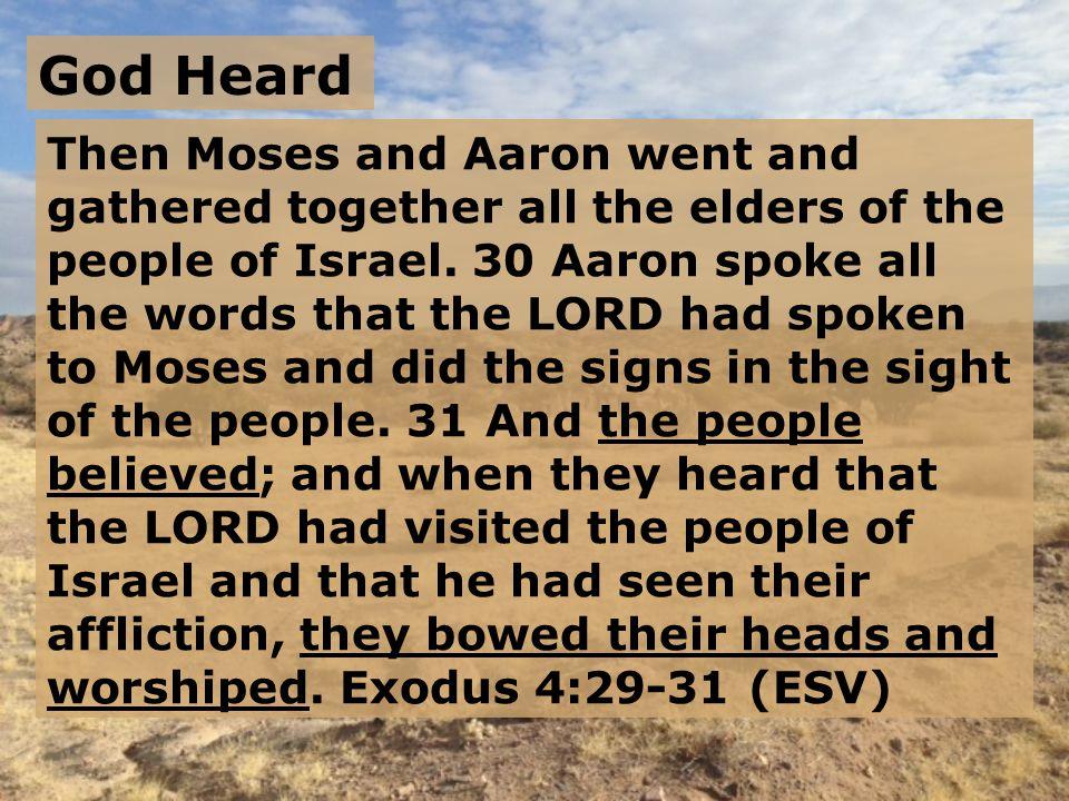 God Heard