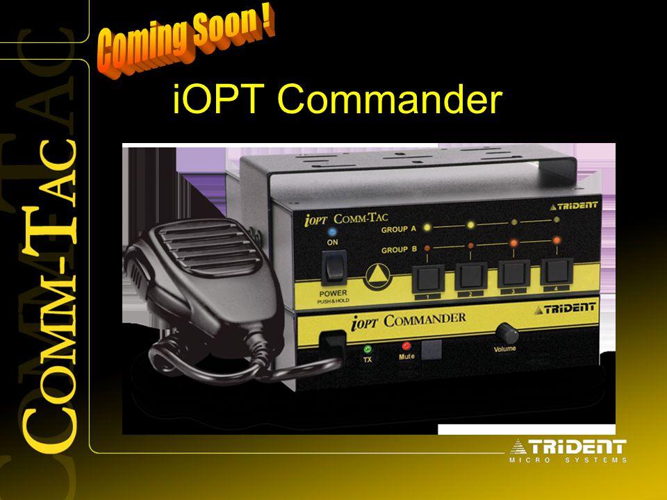 Coming Soon ! iOPT Commander