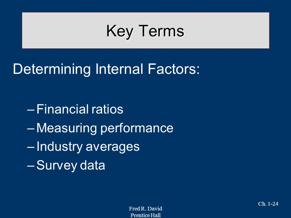 Four Basic Types of Financial Ratios Used to Measure a Company's Performance