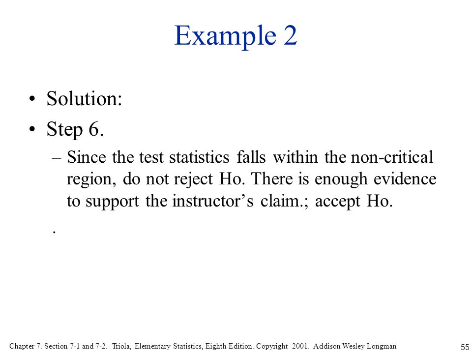 Example 2 Solution: Step 6.