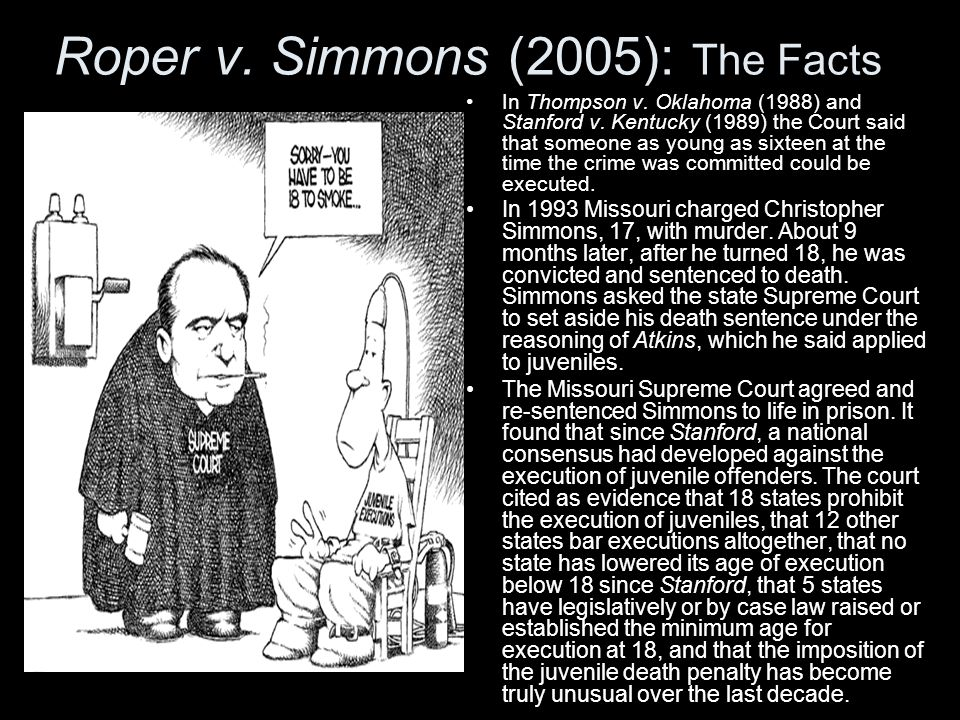 Roper v. Simmons (2005): The Facts