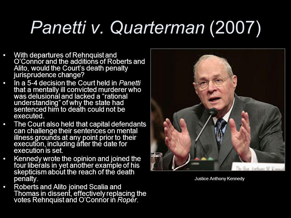 Panetti v. Quarterman (2007)