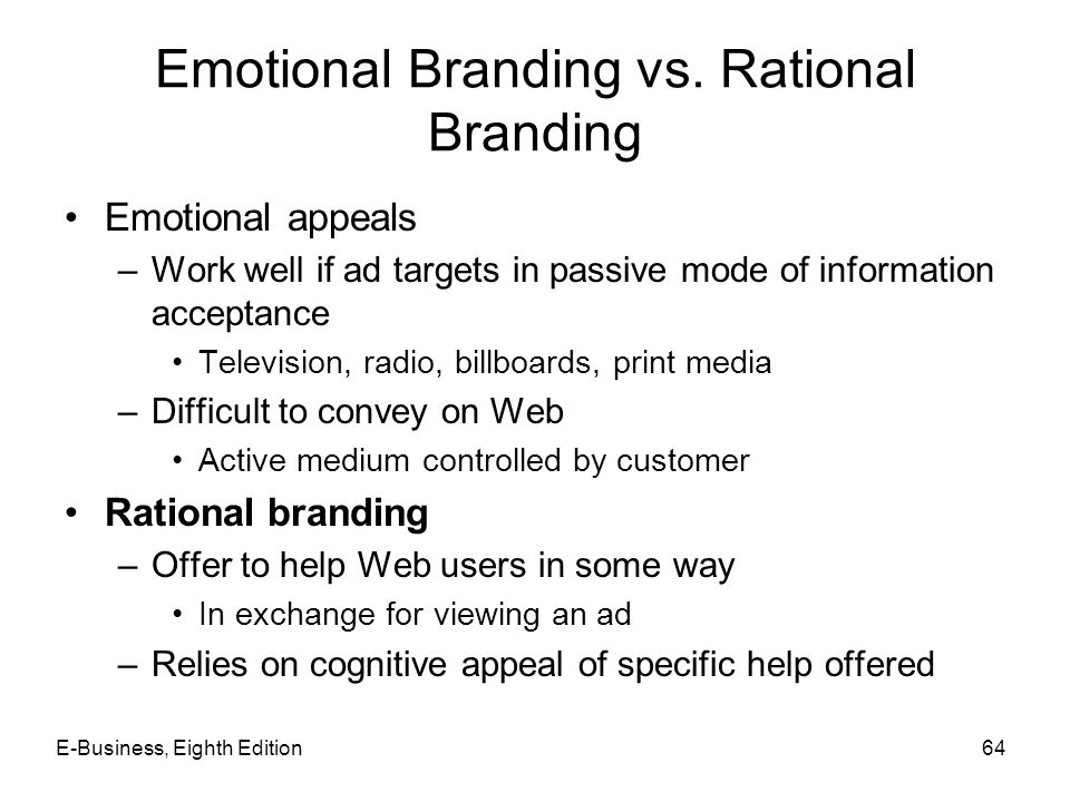 Emotional Branding vs. Rational Branding